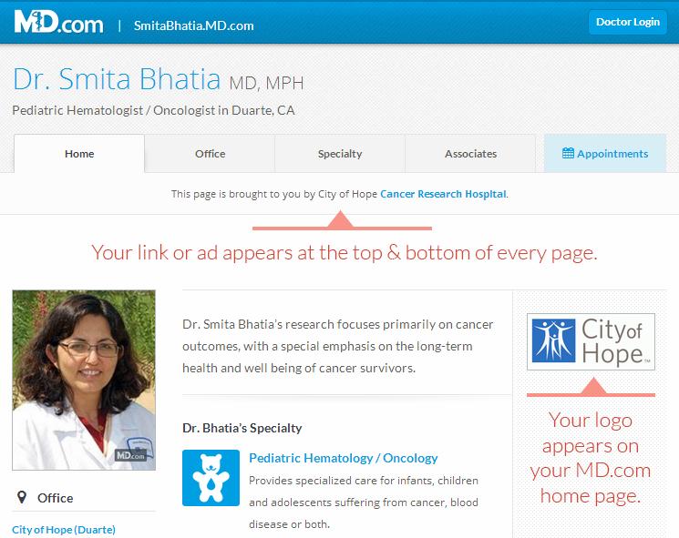 example of enhanced branding option