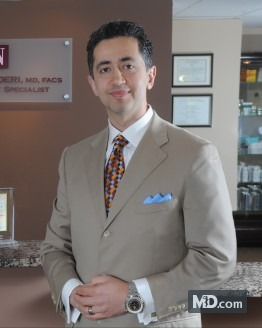 Photo of Dr. Shervin Naderi, MD, FACS