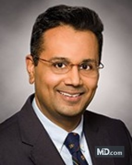 Photo of Dr. Hiren Patel, MD, DABR